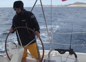 AP510 APRS Tracker am Boot auf der Adria bei Kroatien im Juni 2015